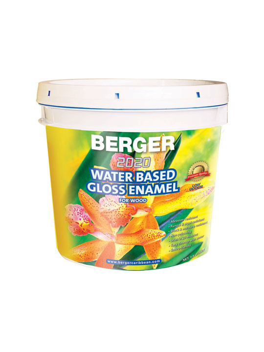 Berger 2020 Water Based Gloss Enamel 1 Gallon Paint