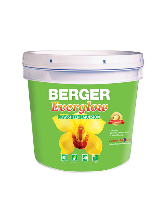 Berger Everglow Low Sheen Emulsion 1 Gallon