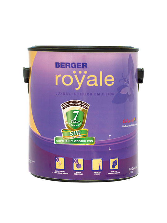 Berger Royale Silk 1 Gallon