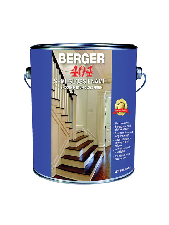 Berger 404 Semi Gloss 1 Gallon Paint