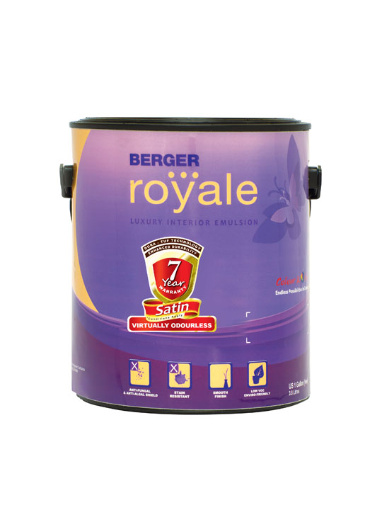 Berger Royale Satin 1 Gallon